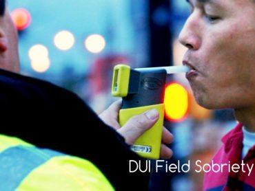 DUI Field Sobriety Test