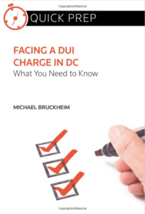 Facing a DUI charge in Washington DC