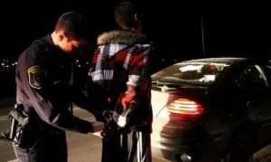 DUI arrest in Germantown MD